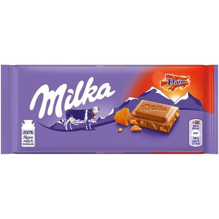 Milka with Daim