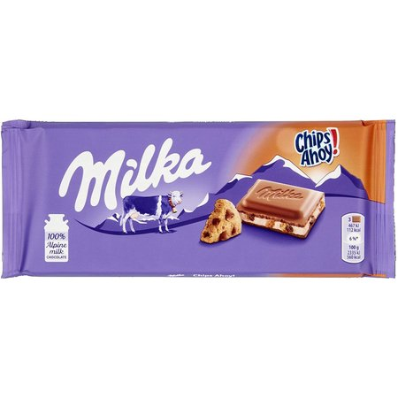Milka with Chips Ahoy! Cookies