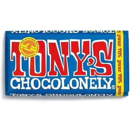 Tony's Chocolonely 70% Extra Dark Chocolate