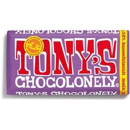 Tony's Chocolonely Cinnamon Biscuit 32% Milk Chocolate