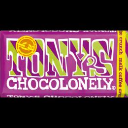 Tony's Chocolonely Coffee Crunch 32% Milk Chocolate