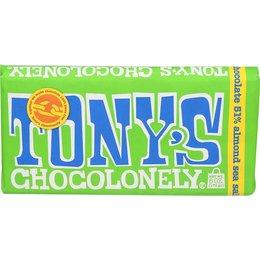 Tony's Chocolonely 51% Dark Almond Sea Salt