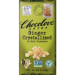 Chocolove Ginger 65% Dark Chocolate
