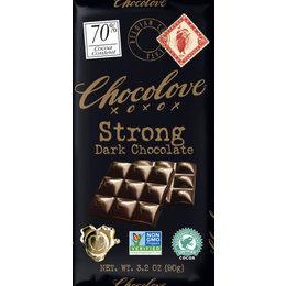 Chocolove Strong 70% Dark Chocolate