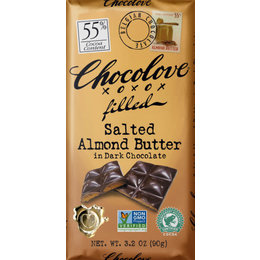 Chocolove Salted Almond Butter 55% Chocolate