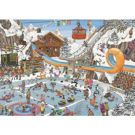 Winter Games Jan Van Haasteren Puzzle 1000pc