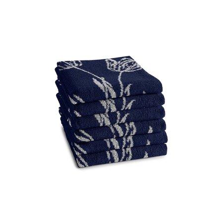 Hand Towel Lisse Blue DDDDD