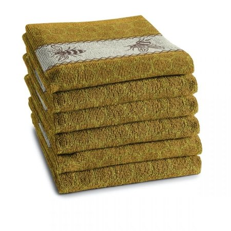 Hand Towel Yellow Bees DDDDD