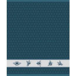 Hand Towel Blue Bees DDDDD