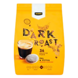 Jumbo Dark Roast Coffee Pods 36 Count