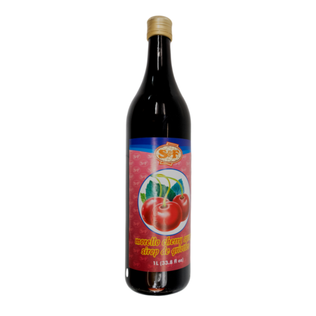 S & F Cherry Syrup 1L