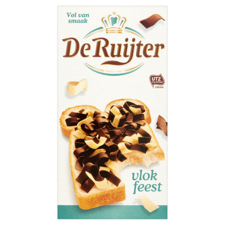 De Ruijter Milk & Vanilla Flakes