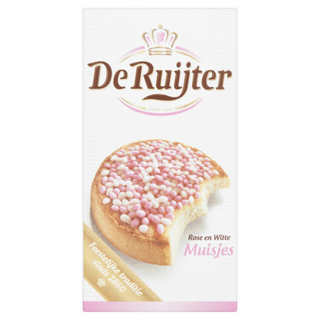 De Ruijter It's A Girl! Pink and White Hail
