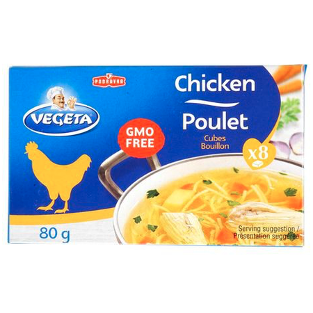 Vegeta Chicken Bouillon Cubes