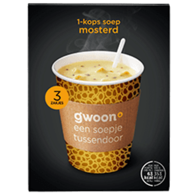 Gwoon Mustard Cup a Soup