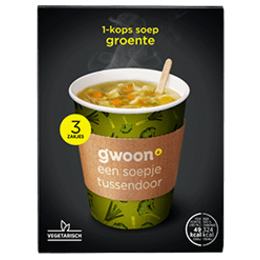 Gwoon Vegetable Cup a Soup