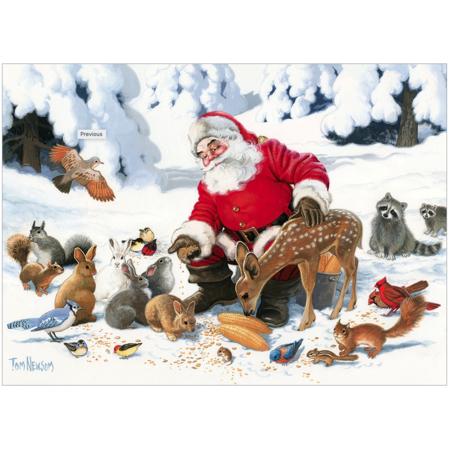 Santa Claus and Friends Family Puzzle