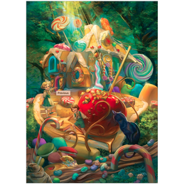 Candy Cottage Family Puzzle
