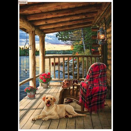 Cabin Porch Puzzle 1000pc