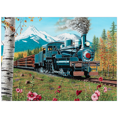 Lumbering Along  Puzzle 1000pc