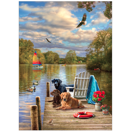 Dog Day Afternoon Puzzle 1000pc