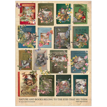 The Nature of Books Puzzle 1000pc