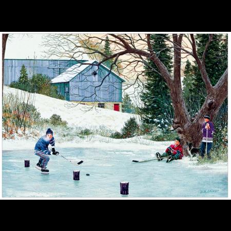 Hockey Drills Puzzle 500pc