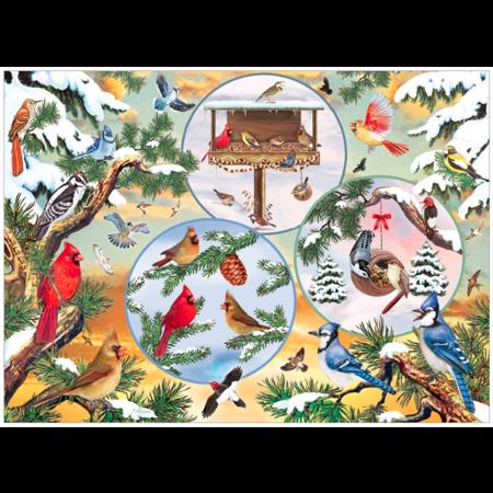Winterbird Magic Puzzle 500pc