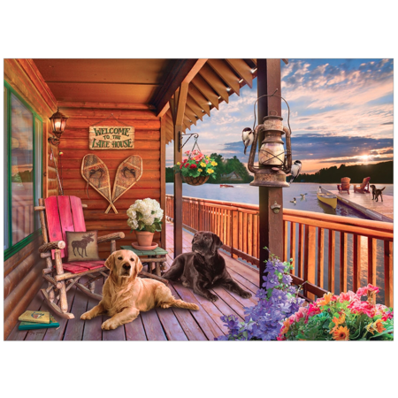 Welcome to the Lake House Puzzle 1000pc
