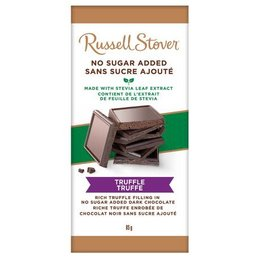 Russell Stover No Sugar Added Dark Truffle Bar
