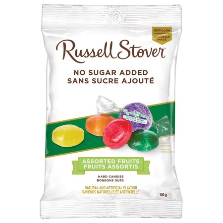 Russell Stover Assorted Fruit Hard Candies No Sugar Added
