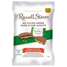 Russell Stover Peanut Butter Cups No Sugar Added