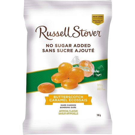 Russell Stover Butterscotch Hard Candies No Sugar Added