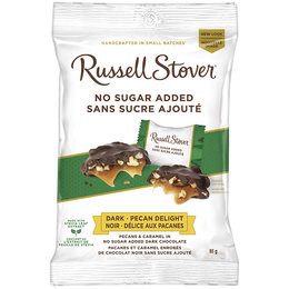 Russell Stover Dark Chocolate Pecan Delight No Sugar Added