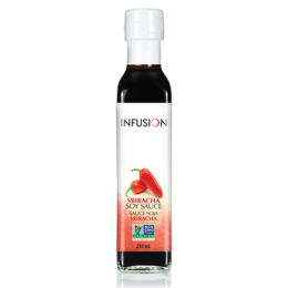 Infusion Sriracha Infused Soy Sauce