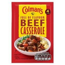 Colman's Beef Casserole Mix