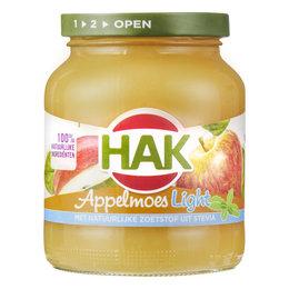 HAK Light Apple Sauce 370ml