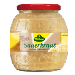 Kuhne Barrel Sauerkraut NO wine