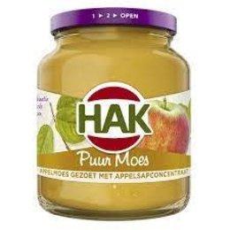 HAK Unsweetened Apple Sauce 370ml