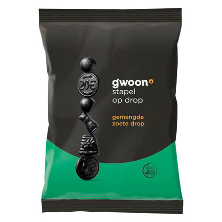 Gwoon Assorted Sweet Licorice 400g