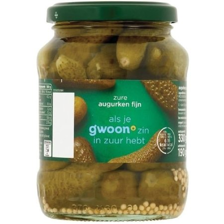 Gwoon Sour Pickles 370ml