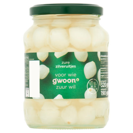Gwoon Sweet and Sour Onions 650g