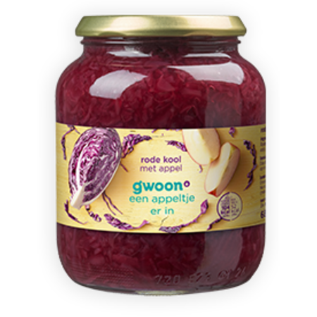 Gwoon Red Cabbage with Apple 720ml