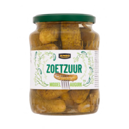 Jumbo Pickles Sweet & Sour 370ml