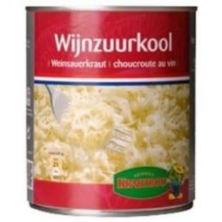 Krautboy Wine Sauerkraut Tin 500ml