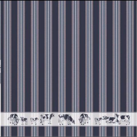 Tea Towel Blue Frisian Cows DDDDD