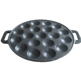 Poffertjes Pan Cast Iron