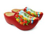 Wooden Shoes - Red