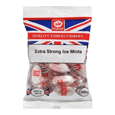 Fitzroy Extra Strong Ice Mints 100g