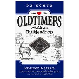 Oldtimers Hindelooper Ruitjesdrop (Blue)